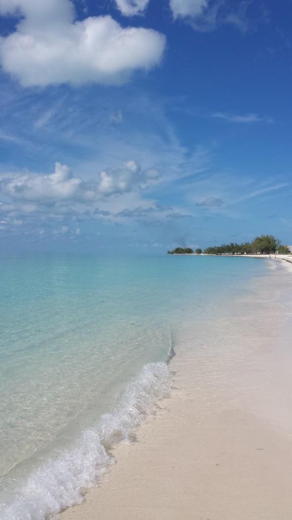 Traumstrand auf den Bahamas