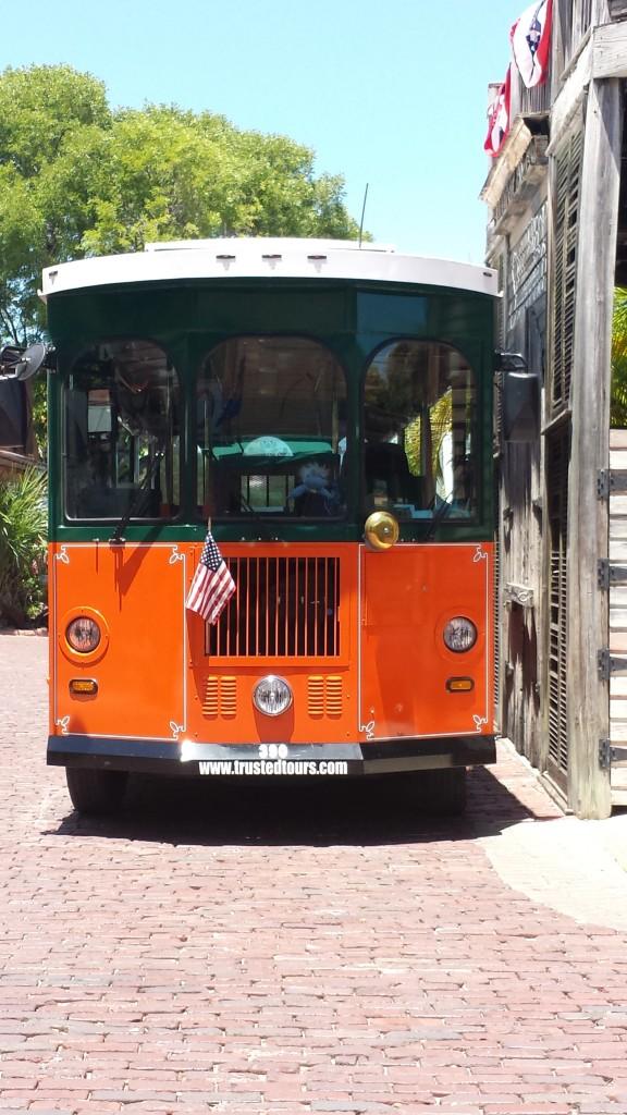 Bus durch Key West