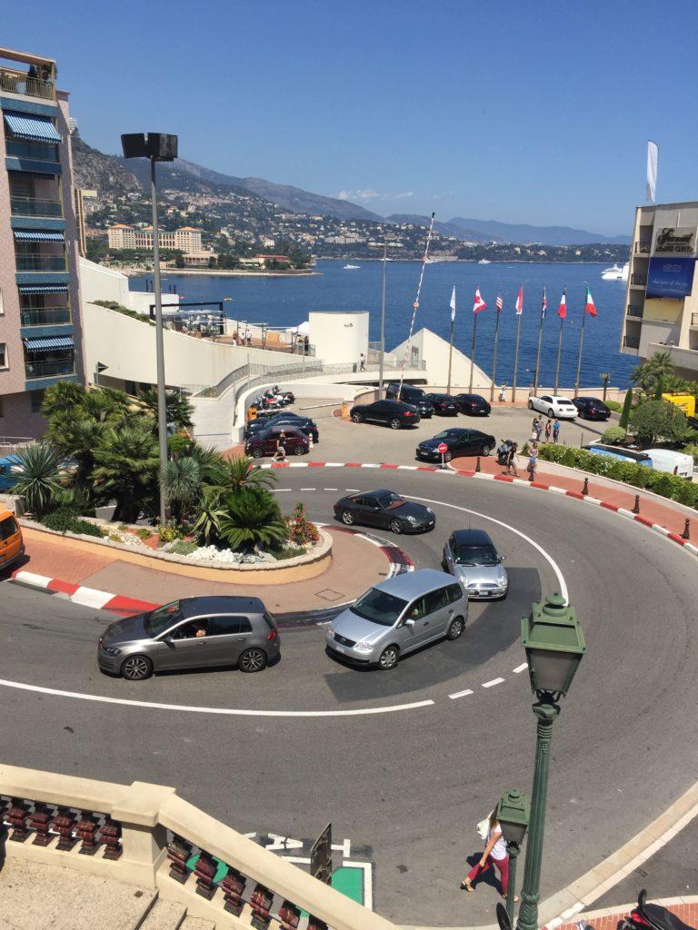 Haarnadelkurve Monaco